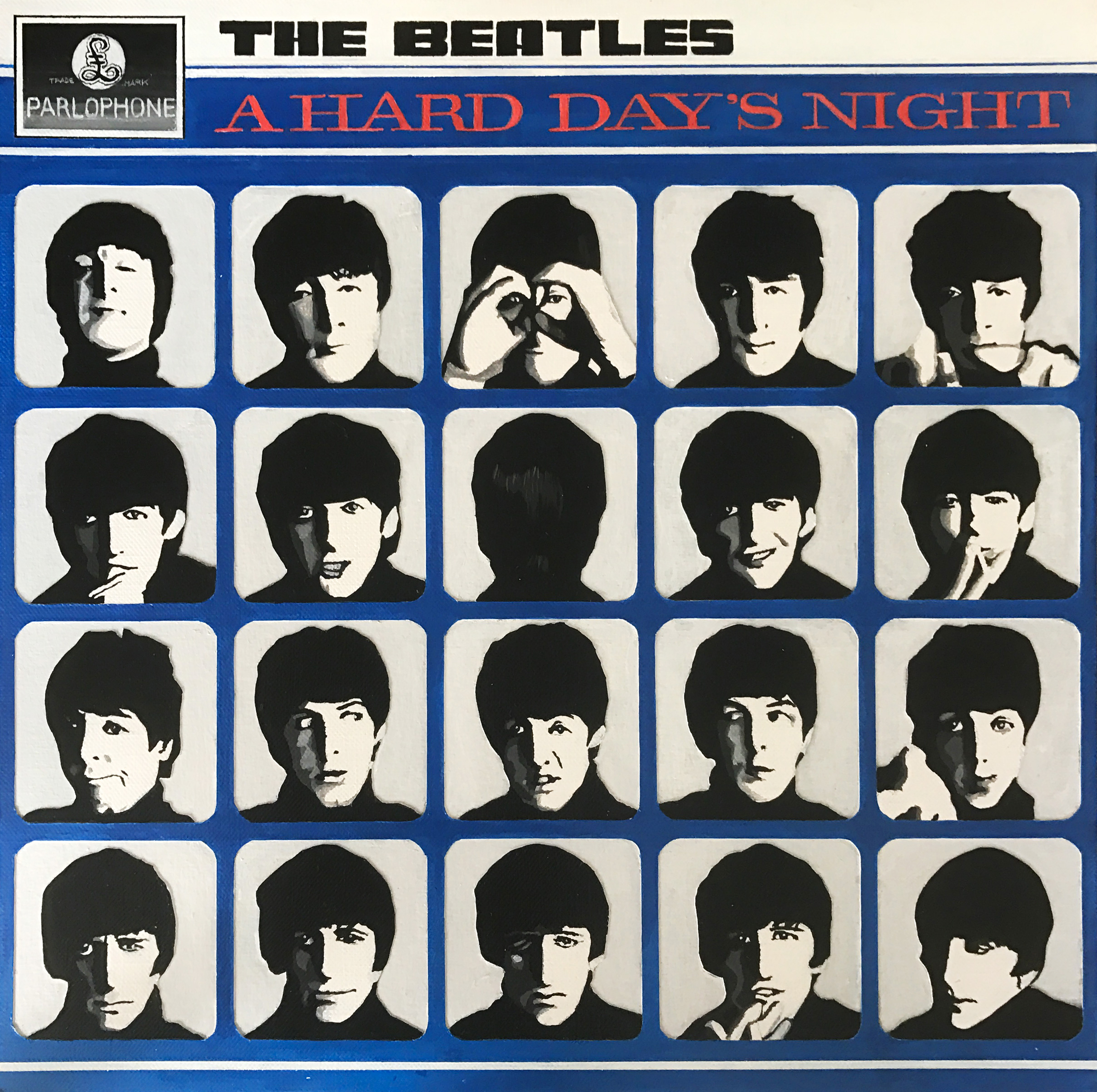 A Hard Day's Night (Painting)