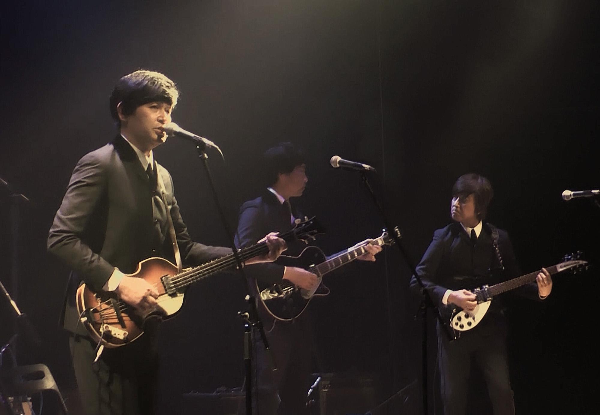 福岡市内でのライブの様子